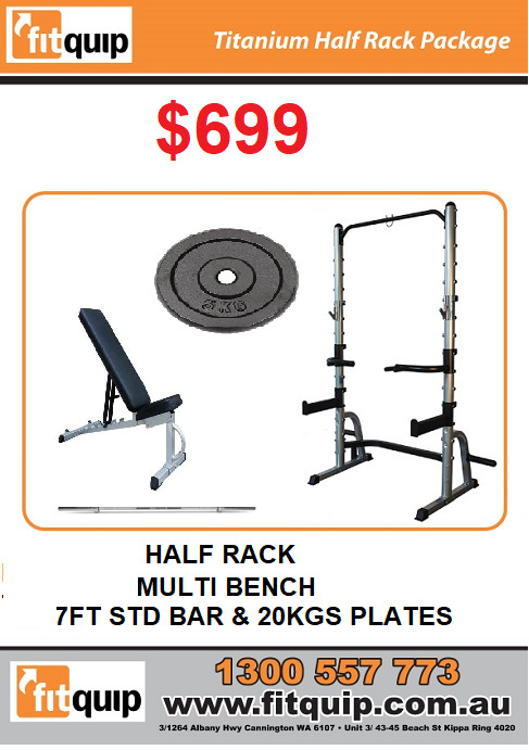 Titanium Half Rack Package
